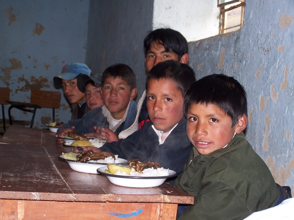 Infancia desfavorecida Perú