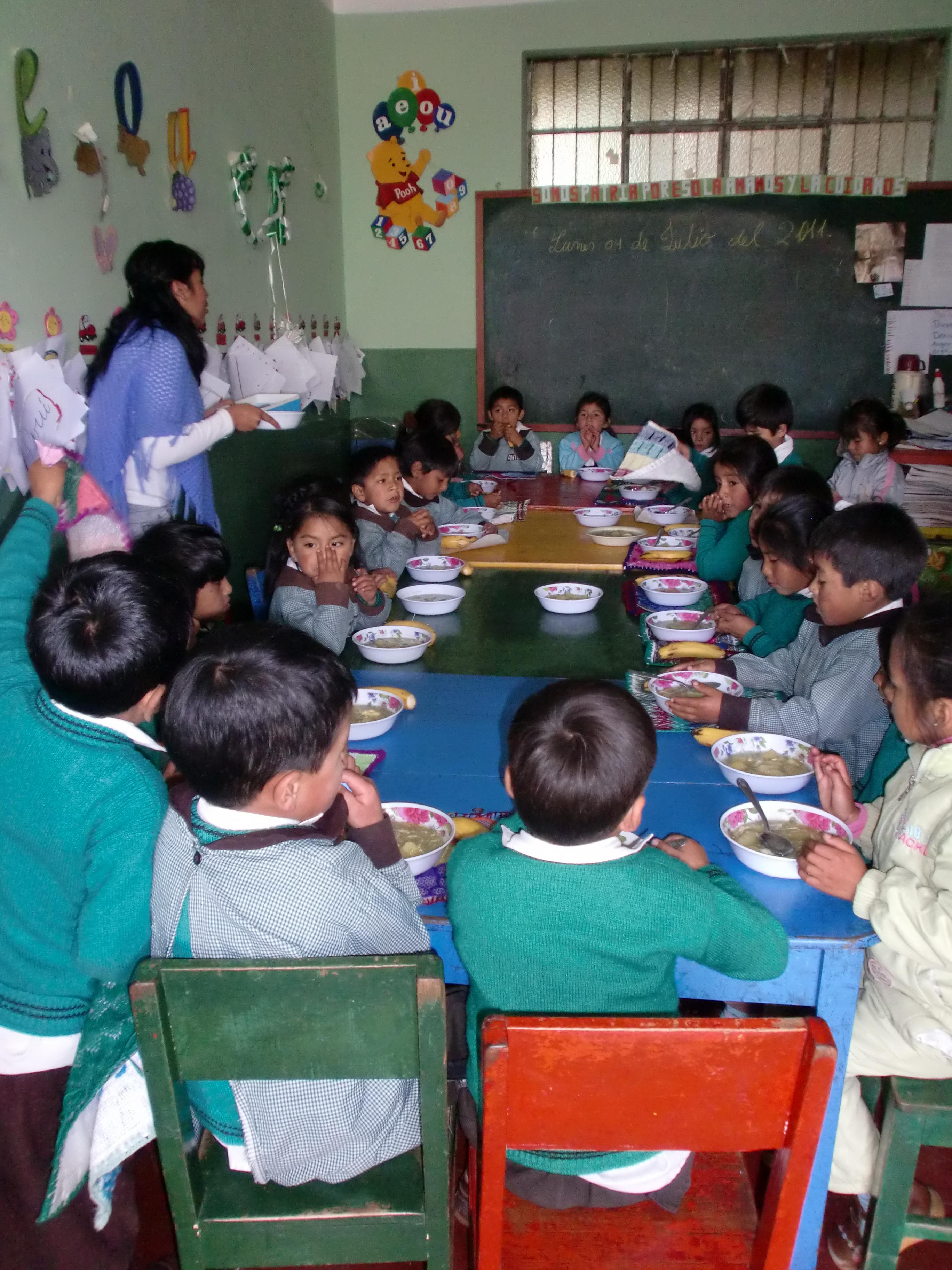 Comedores escolares aulas abiertas en cajamarca aulas - Comedores escolares xunta ...